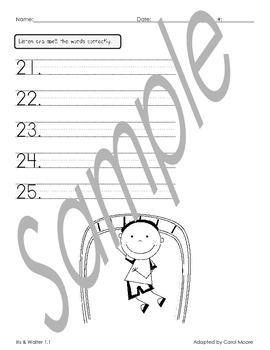 Scott Foresman 2nd Grade Spelling Test Reading Street Unit 1