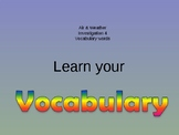 2nd grade Science Air & weather lessons 4 with vocabulary