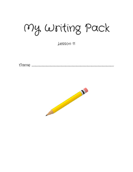 2nd grade Storytown Writing Lesson 11-14