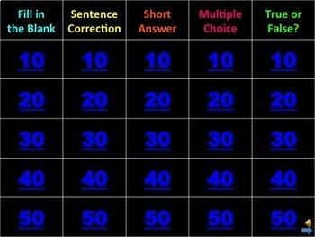 2nd Grade Grammar Games