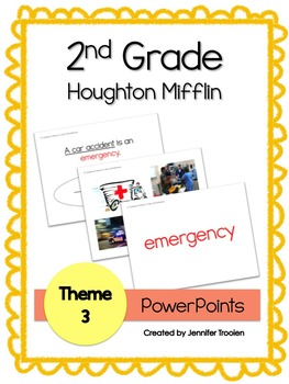 2nd grade Theme 3 Houghton Mifflin Vocab PowerPoints