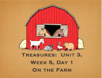 2nd grade Treasures U3W5 Click Clack Moo Power Points