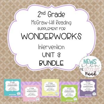 2nd grade Unit 3 Reading Supplement for WonderWorks- GROWING Bundle