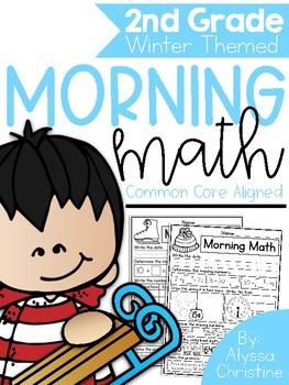 2nd grade Winter Morning Work