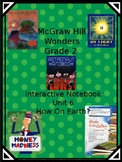 2nd grade Wonders Interactive Notebook Unit 6