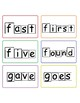2nd grade dolch sight words with word shape outlines