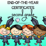 2nd Grade End of Year Certificates   SECOND GRADE