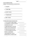 2nd grade grammar test