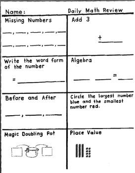 2nd grade quick checks