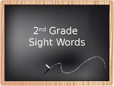 2nd grade sight word PowerPoint