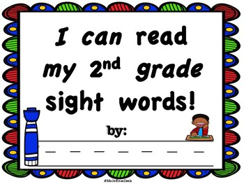 2nd grade Sight Words Workbook
