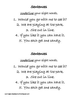 2nd grade sight words book 12