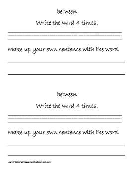 2nd grade sight words book 22