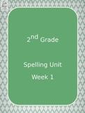 2nd grade spelling unit