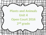 2nd grade vocabulary McGraw Hill Open Court Unit 4