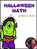 Halloween math (even, odd, add, subtract, patterns, graphs)