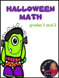2nd second grade halloween math packet