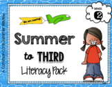 No Prep 2nd to 3rd Grade Summer ONLY ELA Pack