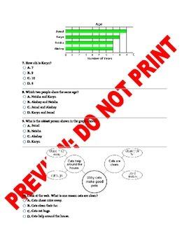 2nd/3rd Grade Text Features CCSS Assessment