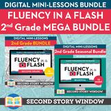 2nd Grade Fluency in a Flash MEGA bundle • Digital Mini Lessons