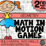 2rd Grade Geometry Games   Hands-On Learning for Workshop & Centers
