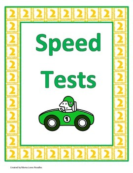 2's and 3's Multiplication Speed Tests