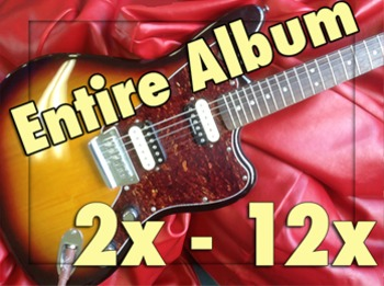 2x - 12x Times Tables Easy Rock Album MP3s (Repeating)