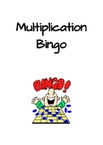 2x 5x 10x Multiplication Facts (Multiplication Bingo)