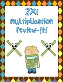 2x1 digit multiplication review-it