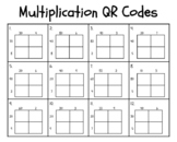 2x2 Multiplication QR Code Task Cards (Pokemon Themed)