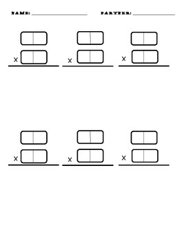 2x2 Multiplication with Dominoes
