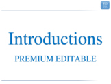 3.1 - ESL Business English Lesson - Introductions - PREMIU