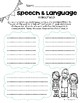 3-1 Model Speech and Language Notes Sheet