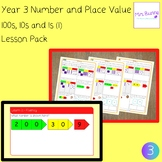 100s, 10s, 1s (1) lesson pack (Year 3 Number and Place Val