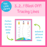 3...2...1...Blast Off! Tracing Lines