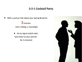 3-2-1 Spring Break Cocktail Party