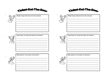 photo about Exit Tickets Printable named 3-2-1 Exit Ticket Worksheets Coaching Supplies TpT