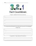 3 2 1 Fact Countdown
