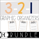 3-2-1 Graphic Organizers BUNDLE!