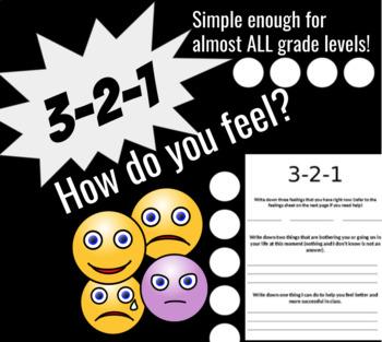 3-2-1 How do you feel?