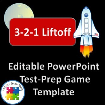 3-2-1 Liftoff Interactive PowerPoint Game Template