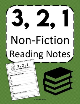3, 2, 1 Non-Fiction Reading Notes
