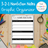 3-2-1 Nonfiction Graphic Organizer