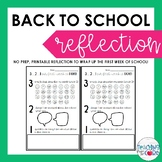 3...2...1...Our First Week is Done! Reflection