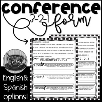 3-2-1 Preconference Form