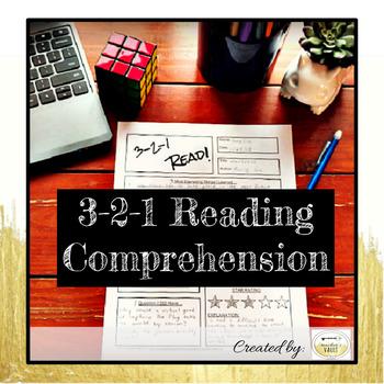 3-2-1 Reading Comprehension