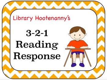 3-2-1 Reading Response