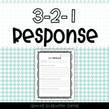 3-2-1 Response