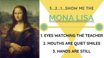 3 2 1 Show me the Mona Lisa