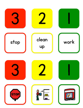 3-2-1 Stopping Task